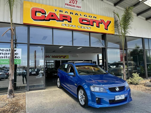 Used Holden Commodore VE MY10 SV6 Traralgon, 2009 Holden Commodore VE MY10 SV6 Blue 6 Speed Automatic Sportswagon