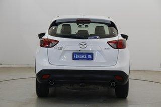 2014 Mazda CX-5 KE1021 MY14 Maxx SKYACTIV-Drive AWD Sport White 6 Speed Sports Automatic Wagon