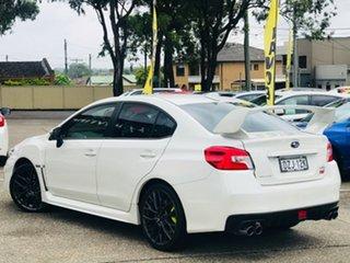 2018 Subaru WRX V1 MY18 STI AWD White 6 Speed Manual Sedan.