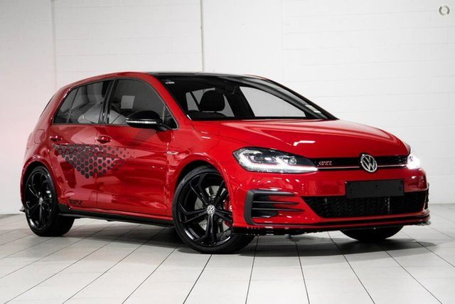 Demo Volkswagen Golf 7.5 MY20 GTI TCR DSG Moorabbin, 2020 Volkswagen Golf 7.5 MY20 GTI TCR DSG Red 6 Speed Sports Automatic Dual Clutch Hatchback