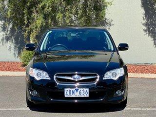 2008 Subaru Liberty B4 MY08 Luxury Edition AWD Black 4 Speed Sports Automatic Sedan.