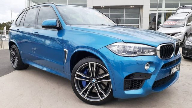 Used BMW X5 M F85 Steptronic Liverpool, 2017 BMW X5 M F85 Steptronic Long Beach Blue 8 Speed Sports Automatic Wagon