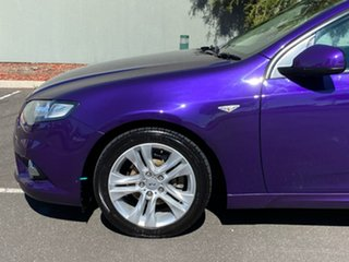 2010 Ford Falcon FG XR6 Purple 5 Speed Sports Automatic Sedan