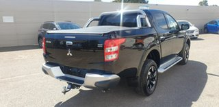 2018 Mitsubishi Triton MQ MY18 Exceed Double Cab Black 5 Speed Sports Automatic Utility.