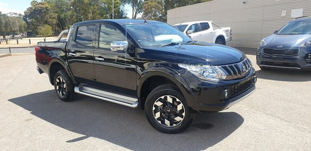 Used Mitsubishi Triton MQ MY18 Exceed Double Cab Elizabeth, 2018 Mitsubishi Triton MQ MY18 Exceed Double Cab Black 5 Speed Sports Automatic Utility