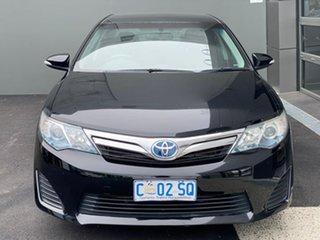 2012 Toyota Camry AVV50R Hybrid H Black 1 Speed Constant Variable Sedan Hybrid.