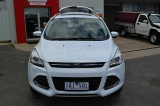 2013 Ford Kuga TF Titanium (AWD) White 6 Speed Automatic Wagon