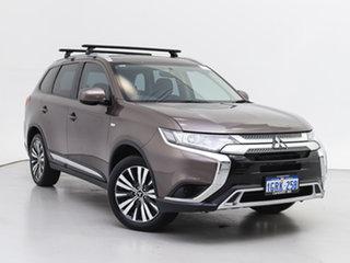 2018 Mitsubishi Outlander ZL MY18.5 ES 7 Seat (2WD) Continuous Variable Wagon.