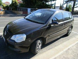 2005 Volkswagen Polo 9N Match Black 5 Speed Manual Hatchback