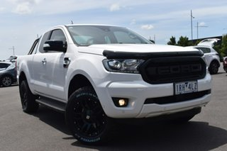 2019 Ford Ranger PX MkIII 2019.75MY XLT White 10 Speed Sports Automatic Super Cab Pick Up.