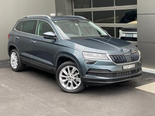 2020 Skoda Karoq NU MY20.5 110TSI DSG FWD Grey 7 Speed Sports Automatic Dual Clutch Wagon.