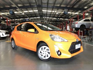 2016 Toyota Prius c NHP10R E-CVT Orange 1 Speed Constant Variable Hatchback Hybrid.