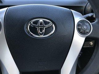 2016 Toyota Prius c NHP10R E-CVT Orange 1 Speed Constant Variable Hatchback Hybrid
