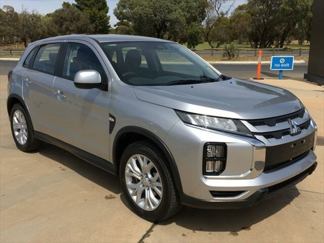 New Mitsubishi ASX XD MY21 ES 2WD Berri, 2020 Mitsubishi ASX XD MY21 ES 2WD Sterling Silver 1 Speed Constant Variable Wagon