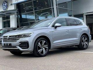 2020 Volkswagen Touareg CR MY20 190TDI Tiptronic 4MOTION Premium Silver 8 Speed Sports Automatic.
