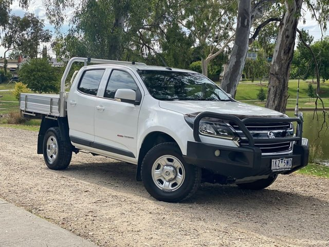 Used Holden Colorado RG MY18 LS Crew Cab Wodonga, 2017 Holden Colorado RG MY18 LS Crew Cab White 6 Speed Sports Automatic Cab Chassis