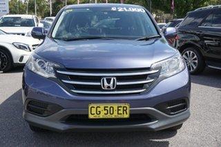 2014 Honda CR-V RM MY15 VTi Blue 5 Speed Automatic Wagon.