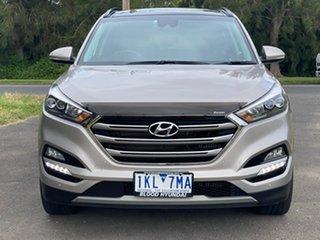 2016 Hyundai Tucson TLE Highlander White Sports Automatic Dual Clutch Wagon.