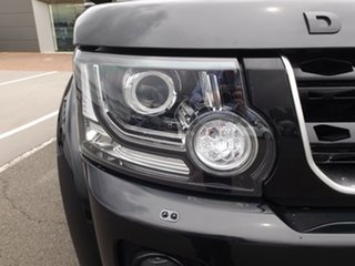 2015 Land Rover Discovery Series 4 L319 MY15 SDV6 SE Santorini Black 8 Speed Sports Automatic Wagon.