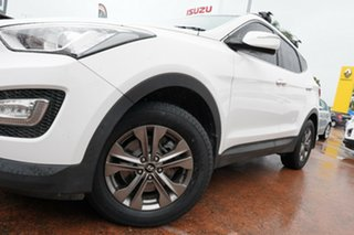 2013 Hyundai Santa Fe DM Active (4x4) White 6 Speed Automatic Wagon.