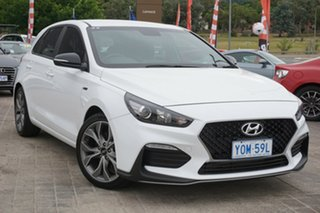 2019 Hyundai i30 PD.3 MY19 N Line Polar White 6 Speed Manual Hatchback.