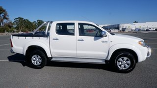 2007 Toyota Hilux GGN25R MY07 SR5 White 5 Speed Automatic Utility.