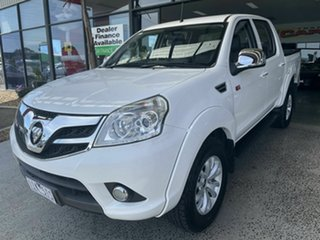 2016 Foton Tunland P201 MY16 (4x4) White 5 Speed Manual Dual Cab Utility