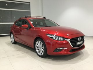 2016 Mazda 3 BN5438 SP25 SKYACTIV-Drive Soul Red 6 Speed Sports Automatic Hatchback.