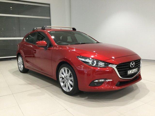 Used Mazda 3 BN5438 SP25 SKYACTIV-Drive Alexandria, 2016 Mazda 3 BN5438 SP25 SKYACTIV-Drive Soul Red 6 Speed Sports Automatic Hatchback