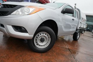 2015 Mazda BT-50 MY13 XT Hi-Rider (4x2) Silver 6 Speed Automatic Freestyle Cab Chassis.