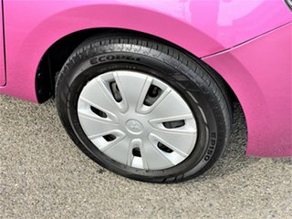 2015 Mitsubishi Mirage LA MY15 ES Pink 1 Speed Constant Variable Hatchback