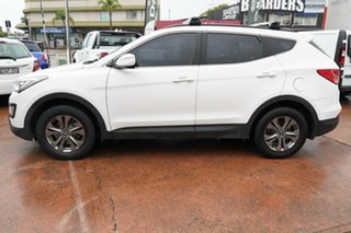 2013 Hyundai Santa Fe DM Active (4x4) White 6 Speed Automatic Wagon