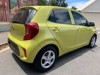 2018 Kia Picanto JA MY19 S Lime Green 4 Speed Automatic Hatchback.