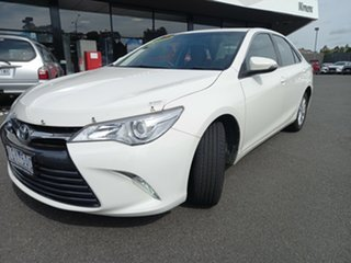 2015 Toyota Camry ASV50R Altise White 6 Speed Sports Automatic Sedan.