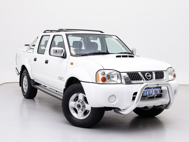 Used Nissan Navara D22 Series 5 ST-R (4x4), 2014 Nissan Navara D22 Series 5 ST-R (4x4) White 5 Speed Manual Dual Cab Pick-up