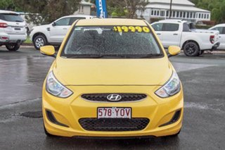 2019 Hyundai Accent RB6 MY19 Sport Yellow 6 Speed Sports Automatic Hatchback.