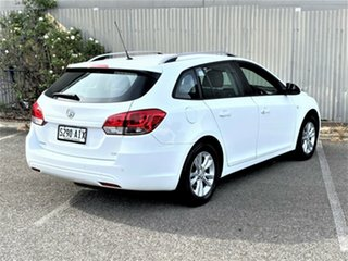 2013 Holden Cruze JH Series II MY13 CD Sportwagon White 6 Speed Sports Automatic Wagon.