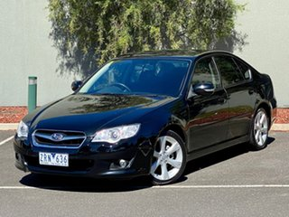 2008 Subaru Liberty B4 MY08 Luxury Edition AWD Black 4 Speed Sports Automatic Sedan.