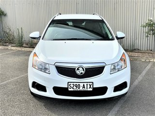 2013 Holden Cruze JH Series II MY13 CD Sportwagon White 6 Speed Sports Automatic Wagon