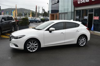 2016 Mazda 3 BM5438 SP25 SKYACTIV-Drive GT White 6 Speed Sports Automatic Hatchback