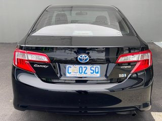 2012 Toyota Camry AVV50R Hybrid H Black 1 Speed Constant Variable Sedan Hybrid