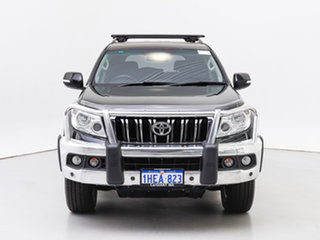 2013 Toyota Landcruiser Prado KDJ150R 11 Upgrade Altitude (4x4) Black 5 Speed Sequential Auto Wagon.
