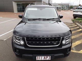 2015 Land Rover Discovery Series 4 L319 MY15 SDV6 SE Santorini Black 8 Speed Sports Automatic Wagon