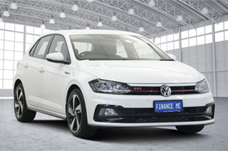2019 Volkswagen Polo AW MY19 GTI DSG White 6 Speed Sports Automatic Dual Clutch Hatchback.