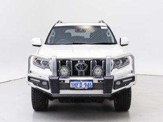 2019 Toyota Landcruiser Prado GDJ150R Kakadu (4x4) White 6 Speed Automatic Wagon.