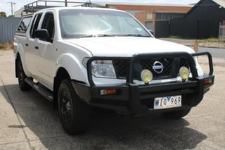 2007 Nissan Navara D40 RX (4x4) White 5 Speed Automatic Dual Cab Pick-up.