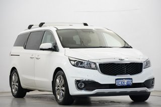 2015 Kia Carnival YP MY15 Platinum Clear White 6 Speed Sports Automatic Wagon