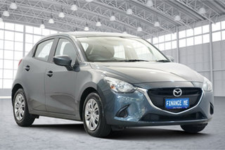 2015 Mazda 2 DJ2HAA Neo SKYACTIV-Drive Grey 6 Speed Sports Automatic Hatchback.