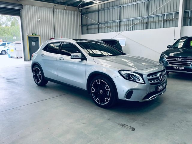 Used Mercedes-Benz GLA-Class X156 808MY GLA250 DCT 4MATIC Epsom, 2017 Mercedes-Benz GLA-Class X156 808MY GLA250 DCT 4MATIC 7 Speed Sports Automatic Dual Clutch Wagon
