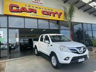 2016 Foton Tunland P201 MY16 (4x4) White 5 Speed Manual Dual Cab Utility.